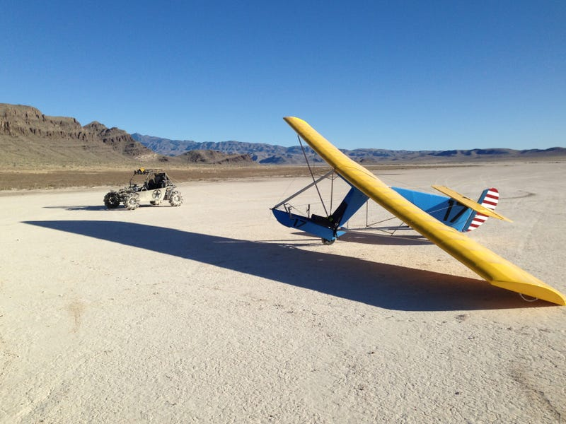 Look What I Made - An Ultralight Glider