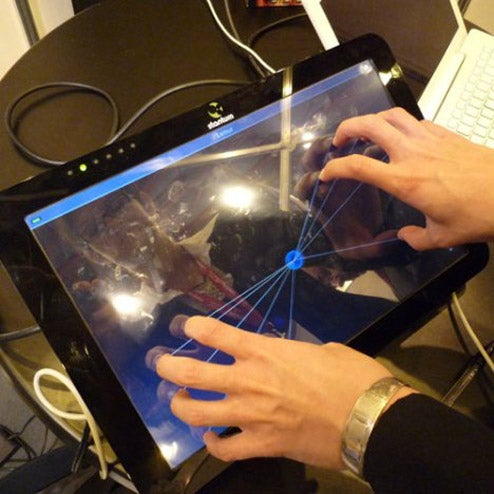 "Stantum ""True Multitouch"" Lets You Use ALL Your Fingers"