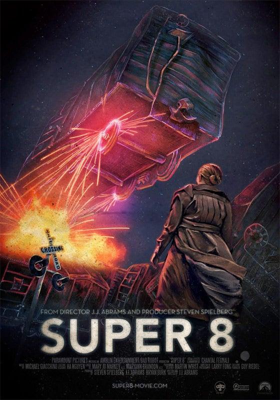 Super 8 Unused Posters