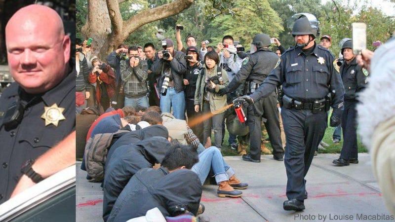 Pepper-Spraying Cop Seeks Worker's Comp for 'Psychiatric Injury'