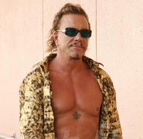 Mickey Rourke Staples 'Wrestlemania' Appearance Into Calendar