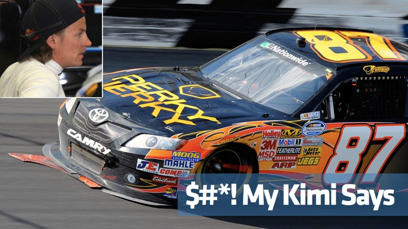 The ten funniest things Kimi Raikkonen said in his NASCAR debut