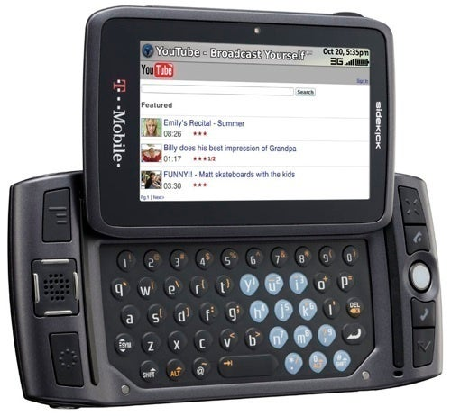 4G Sidekick Coming Soon to T-Mobile, Only This Time It's Running Android