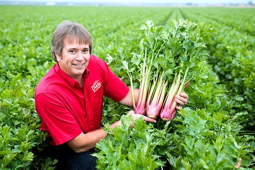 Are You Ready to Eat This Red Celery?
