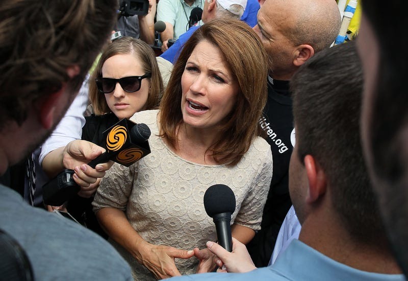 God is Punishing Michele Bachmann's Campaign Staffers With Empty Pockets Because They Won't Sign Nondisclosure Agreements