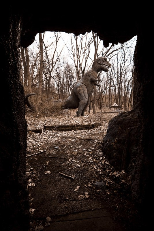 Michigan's Abandoned Dinosaur Amusement Park Is Way Creepy