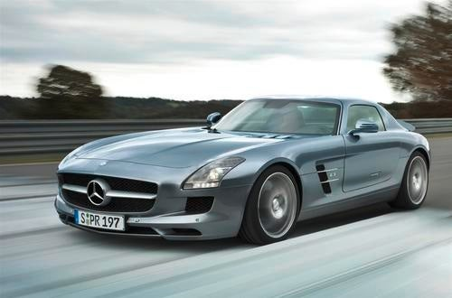 Mercedes SLS AMG Press Photos