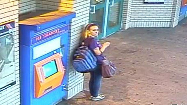 'Kidnapped' Teen Kara Alongi Caught on Camera Taking the Train Out of Town