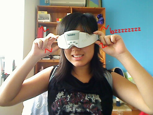 Lightning Review: Babaka Massage Glasses (Verdict: Face Ticklingly Weird)