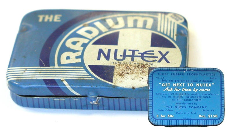 Once Upon a Time, We Used Radium Condoms For Glow in the Dark Sex