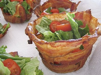 Make Drool-Worthy Bacon Cups for Your Holiday Party