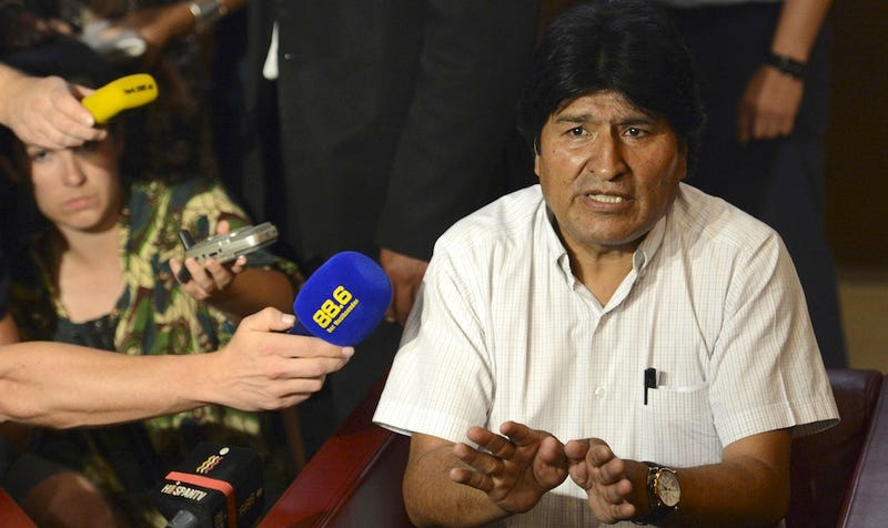 Who Told All Those Europeans Ed Snowden Was On Evo Morales' Plane?