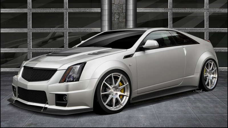 Texas-tuned Cadillac CTS-V Coupe will get 1,000-hp