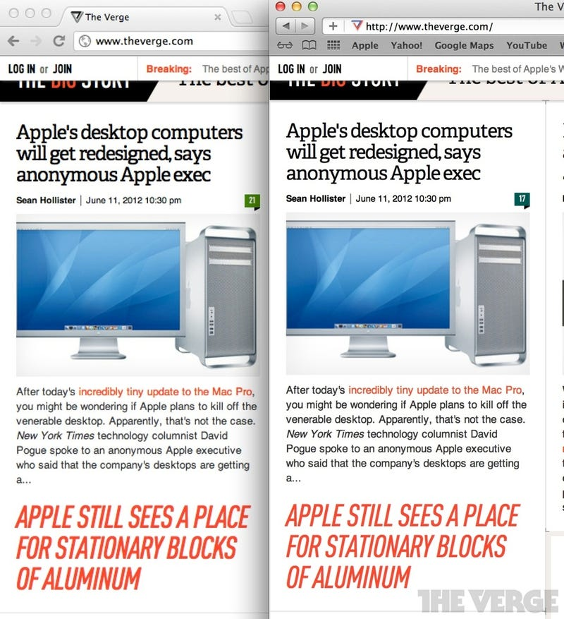 Some Third-Party Apps Look Crappy on the New MBP Retina Display