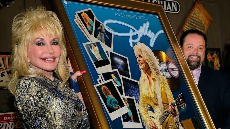 Dolly Parton Gets Lock, Stock and Cracker Barrel