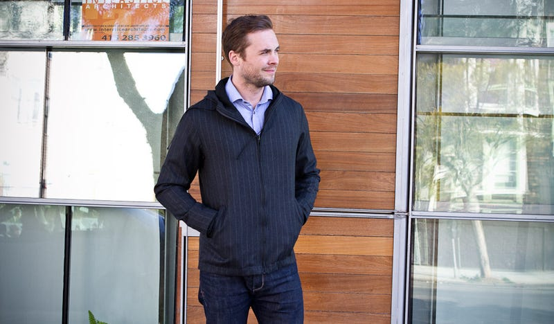 Mark Zuckerberg Should Have Worn This Executive Pinstripe Suit Hoodie to His Wedding