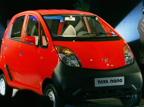 $2,500 Tata Nano Aiming For 2013 U.S. Launch