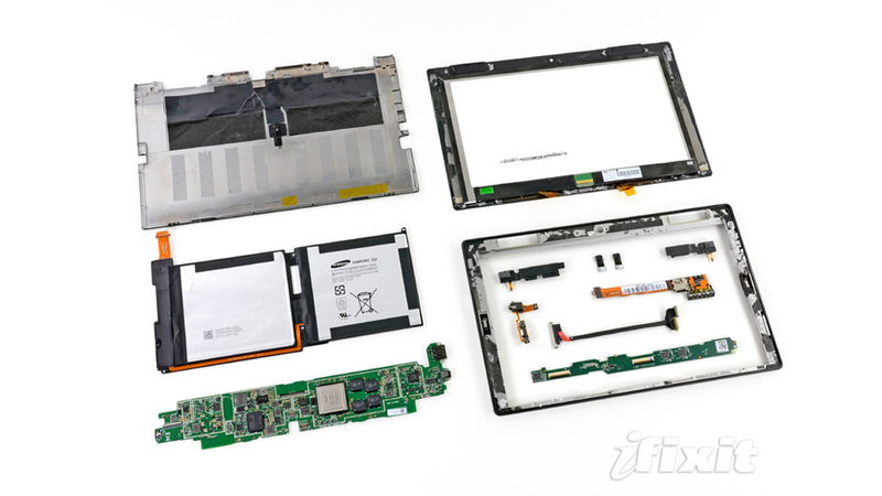 Microsoft Surface Teardown: A Great Big Puzzle of Guts