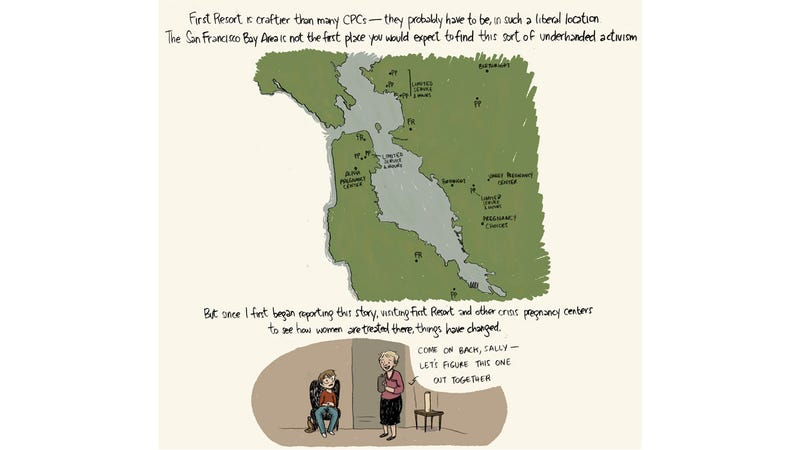 The Illustrated Guide To San Francisco's Crisis Pregnancy Centers