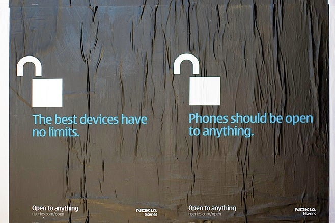"""Nokia Taunts Apple with New """"Open to Anything"""" N95 Campaign"""