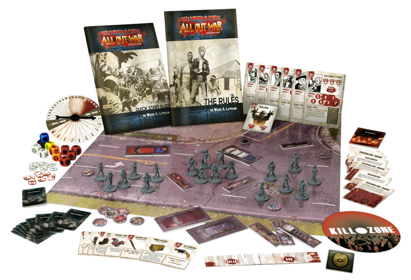 Roll Dice to Smash In Zombie Heads With the Walking DeadTabletop Miniatures Game