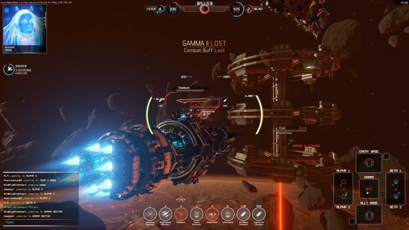 Massive Spaceship Battles Make A Very Cool MOBA