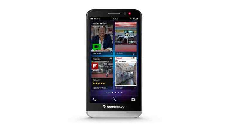 El sucesor del BlackBerry Z10 ya es oficial: llega el (enorme) BB Z30