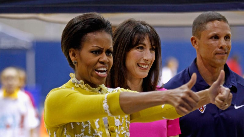 Michelle Obama Wholeheartedly Approves of Your Moves