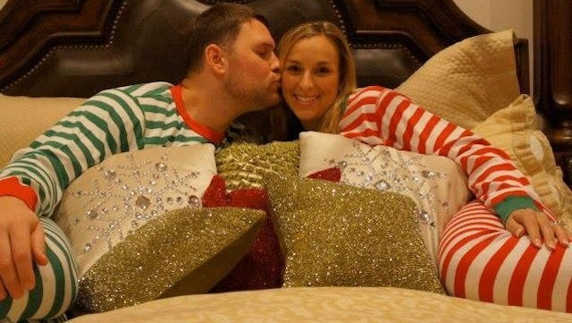 Here Is Chad Henne Cuddling In A Pajama Onesie