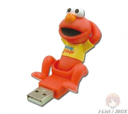 Someone Get Ricky Gervais This Crunching Elmo With USB Penis