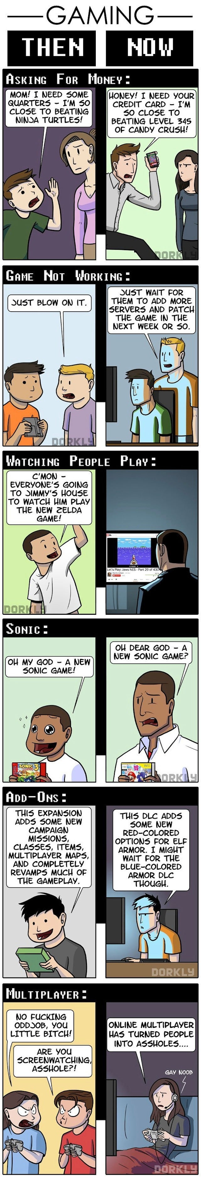Life With Video Games Has Gotten More Depressing, Funnier