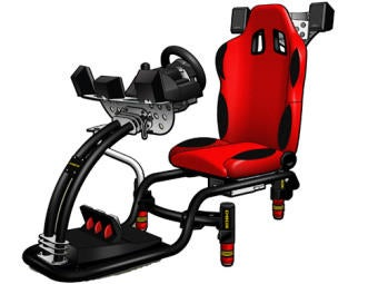 D-Box GP-200 Racing Game Seat Costs a Fortune
