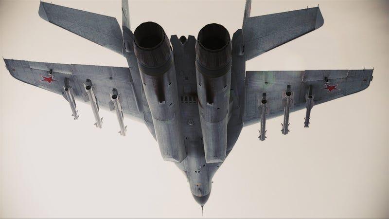 Fresh Fighter Jet Porn for Ace Combat Fans