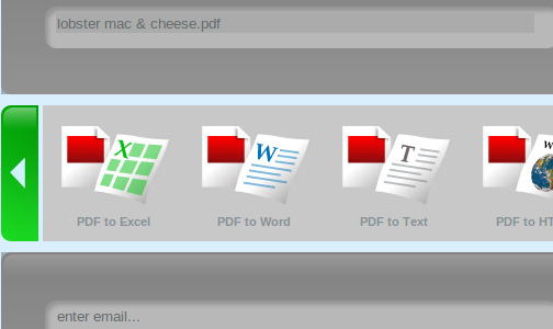 CometDocs Converts Between More than 50 File Types