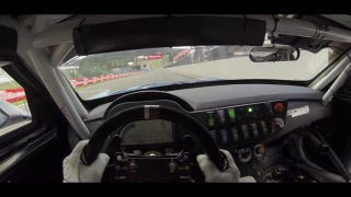 Hear This Racing Driver Cheer After Taking Eau Rouge Flat Out