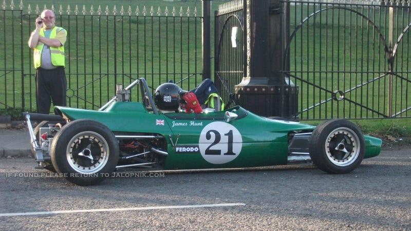 Spy Photos Of Ron Howard's Rush Shoot At Crystal Palace Circuit