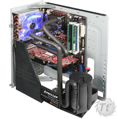 Thermaltake's Xpressar PC Case Uses Actual Fridge Compressor For Cooling