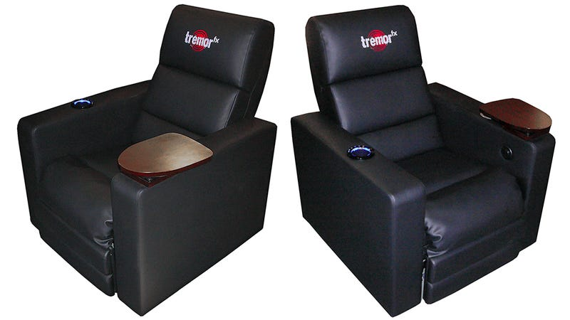 Vibrating Home Theater Seats Are Another Reason To Skip the Cinema