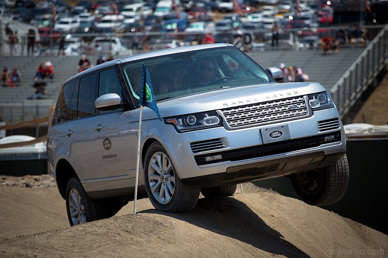Who actually off-roads a new Range Rover?