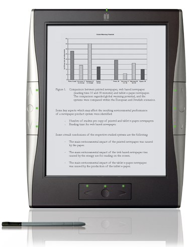 iRex Delivers New 1000 Series E-Readers