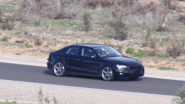 Audi a3 2014 Blue 2014 Audi a3 Sedan Spotted
