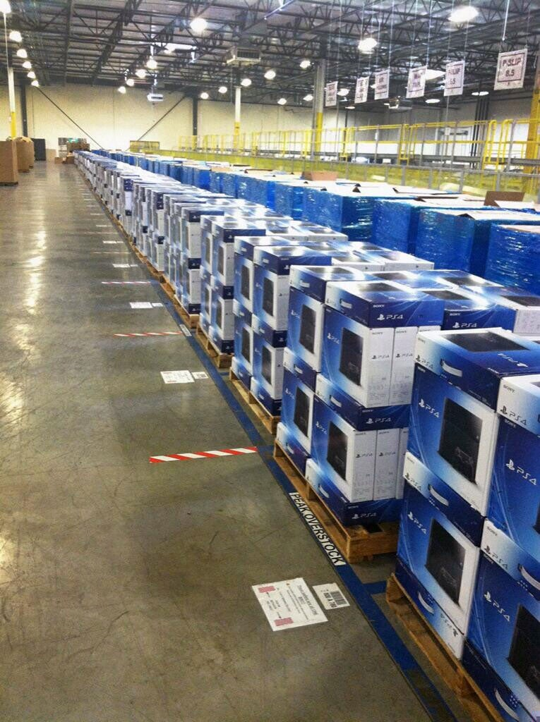 An Army Of PS4 Consoles, Massed At The Gates