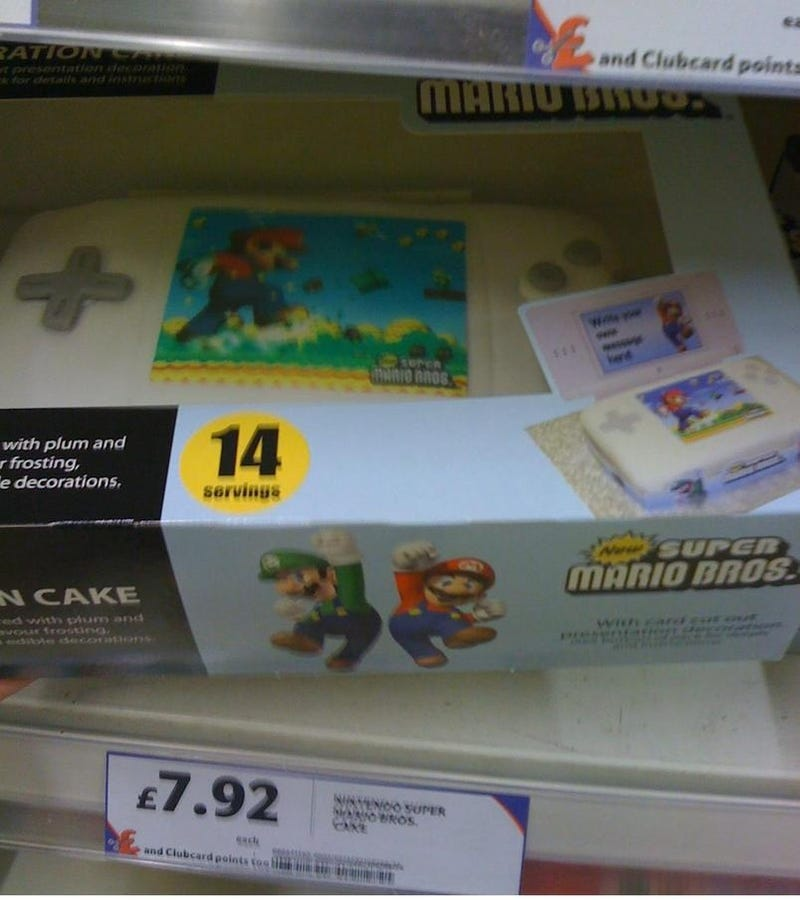 UK Chain Starts Selling Nintendo DS Cakes