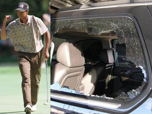 The Worst Car-Related Tiger Woods Jokes On The Internet