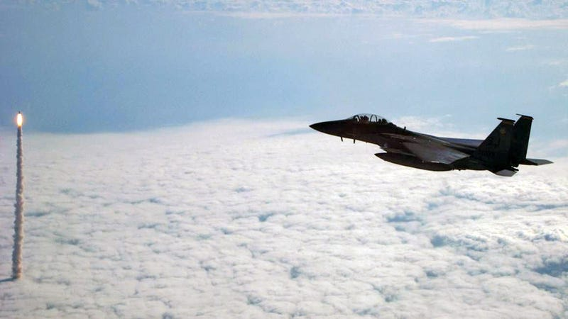 I Wish I Could Fly an F-15 Around the Last Shuttle Launch