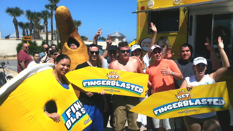 Fingerblasting Is Spring Break's Most Delicious Trend