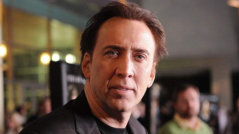 Nicolas Cage Under Investigation for Drunken Child Abuse, Too