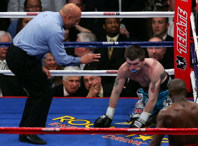 Mayweather Disposes of Hatton In 10