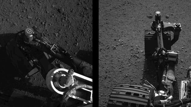 Watch Curiosity wiggle its wheels!
