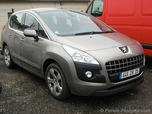 2010 Peugeot 3008 Spotted Sans Camouflage